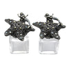 Mermaid Salt & Pepper Shakers Pewter