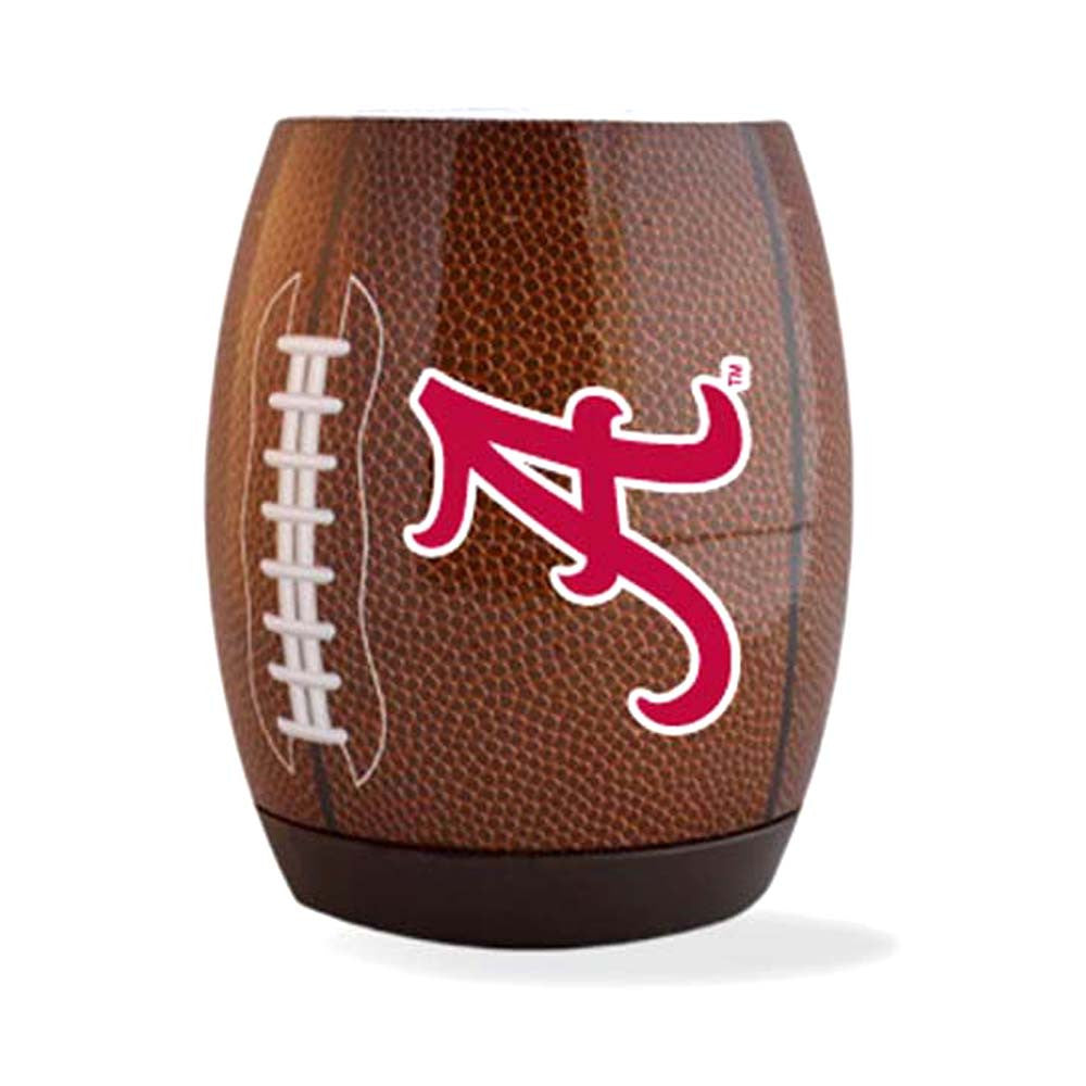 Alabama 'A' Logo Football Single Foam Flying Coozie