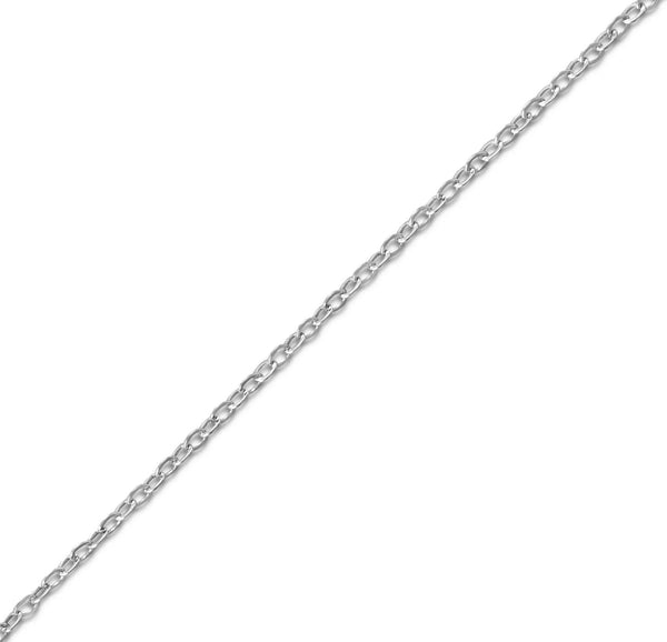 "Cable Chain Necklace 18"" 1.9mm"