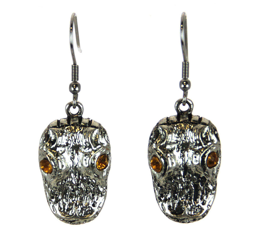 Alligator Head Earrings