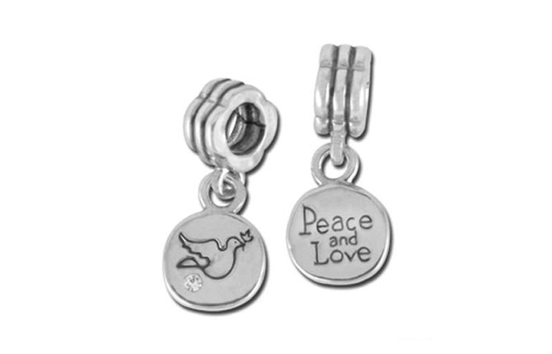Peace and Love Bead