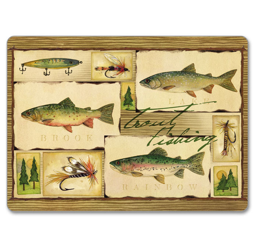 Hardboard Table Mats Lake House