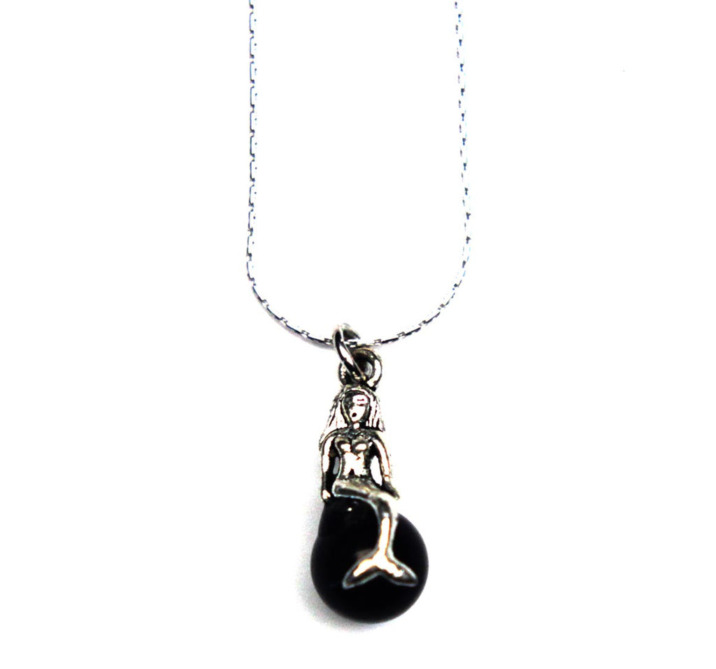 Mermaid Necklace Black