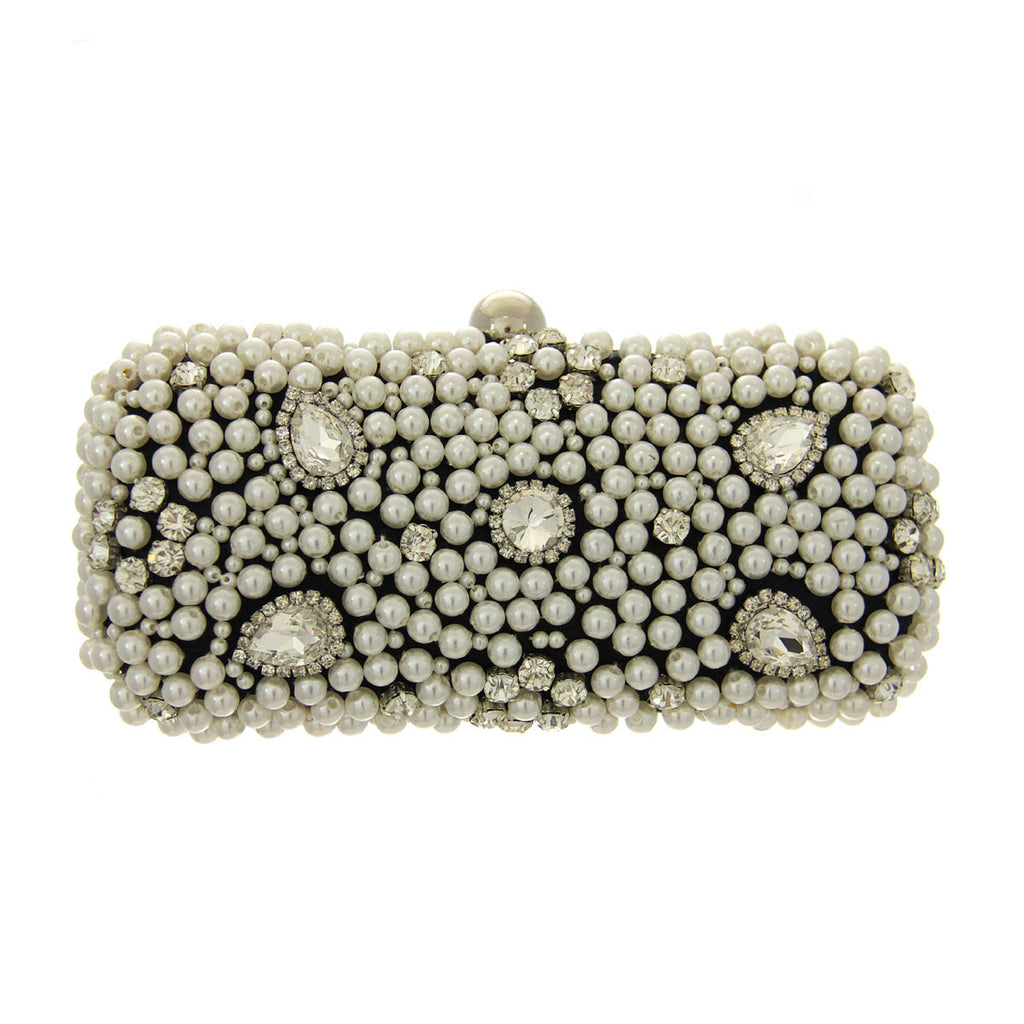 Pearl Evening Bag - Black