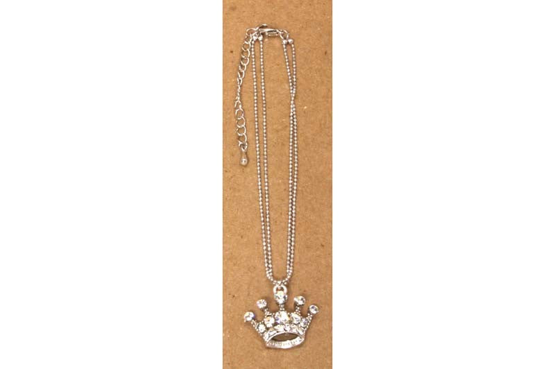 Crown Ankle Bracelet Diamond