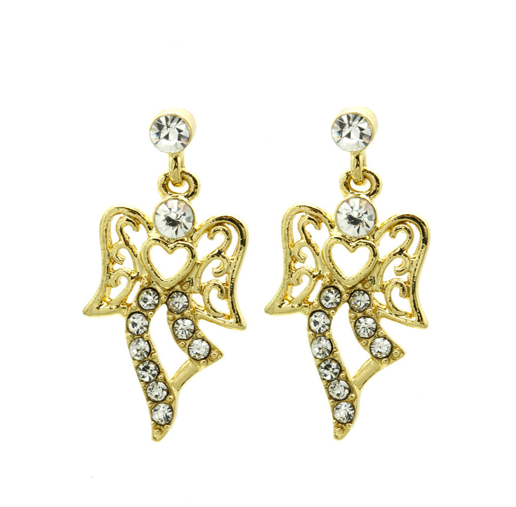 Angel Earrings Gold