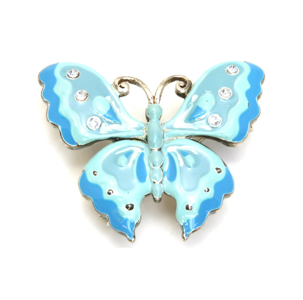 Butterfly Pin/Pendant Blue