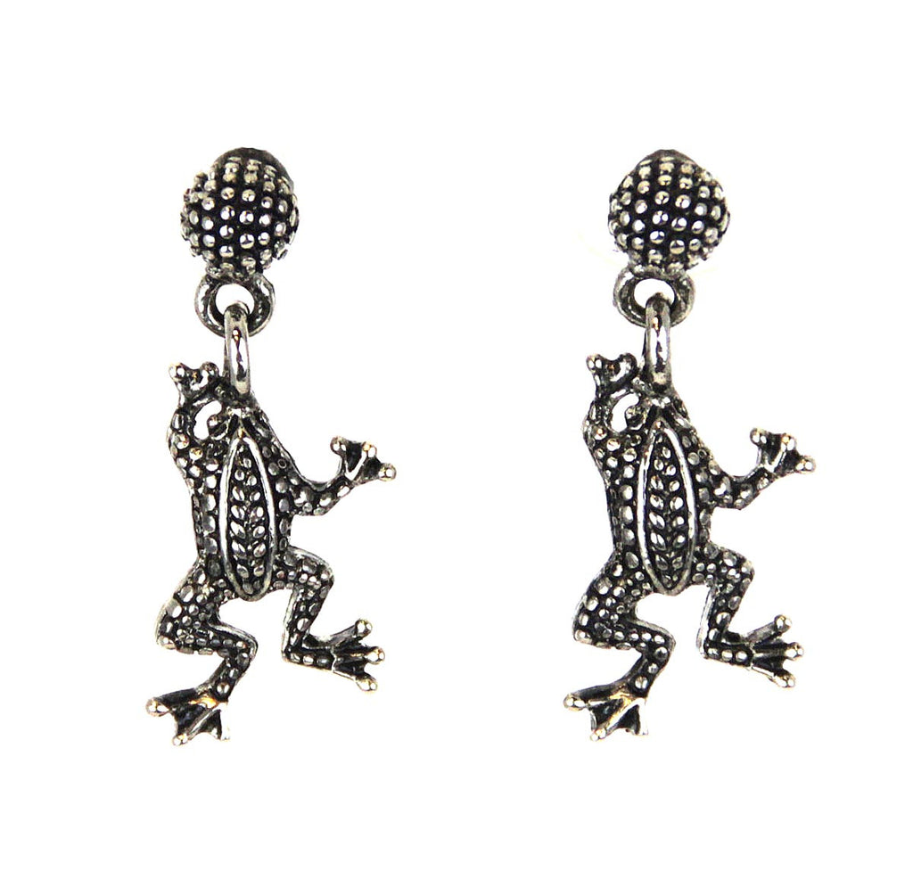 Frog Dangle Earrings