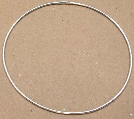 "Cable Chain 18"" Silver"