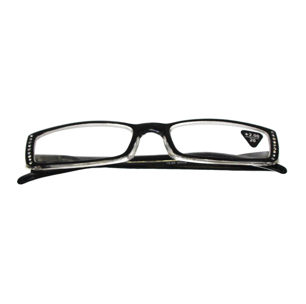 +2.00 Reading Glasses Black