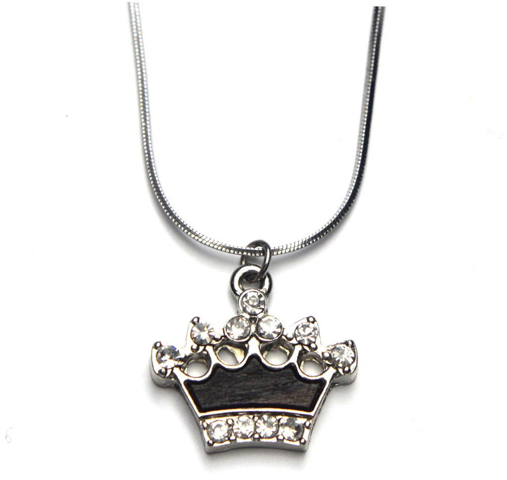 Crown Necklace Silver