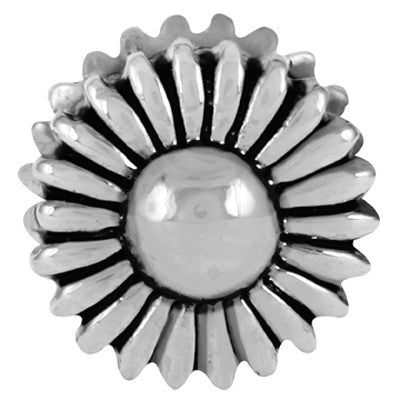 Daisy LuTini Petite Plated Floral Bead