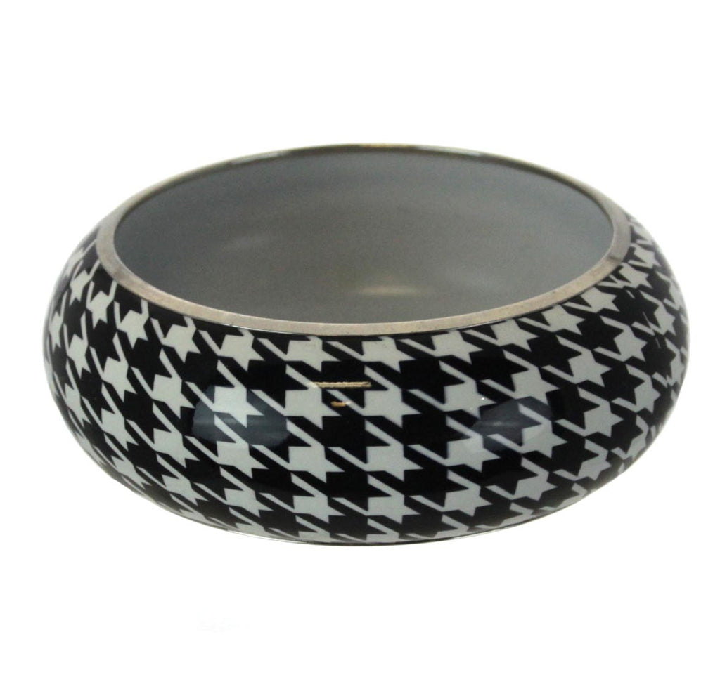 Houndstooth Bracelet Bangle
