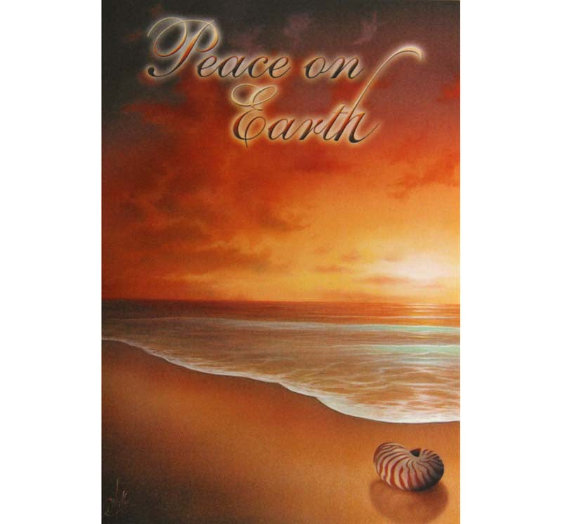 Box of 10 Christmas Cards Peace on Earth
