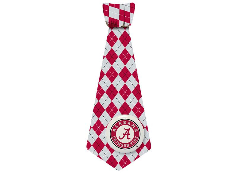 Bama Argyle Big Guy Sticky Tie