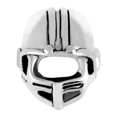 Football Helmet LuTini Petite Plated Sports Bead