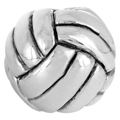 Volleyball LuTini Petite Plated Sports Bead
