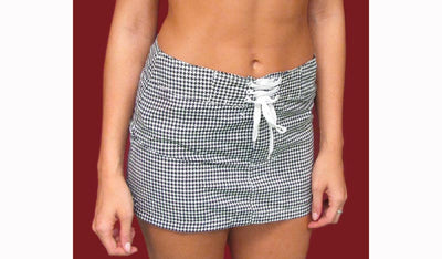 Houndstooth Board Skirt Medium