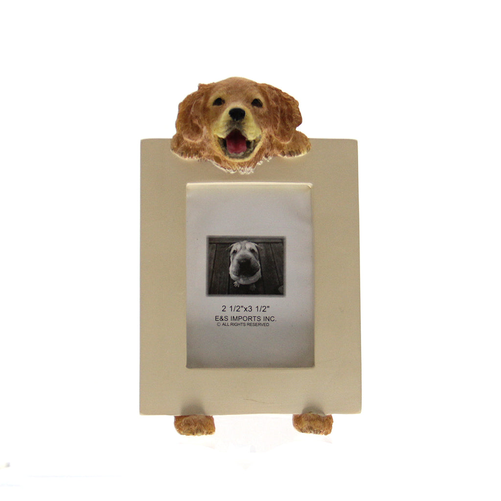 Picture Frame Golden Retriever