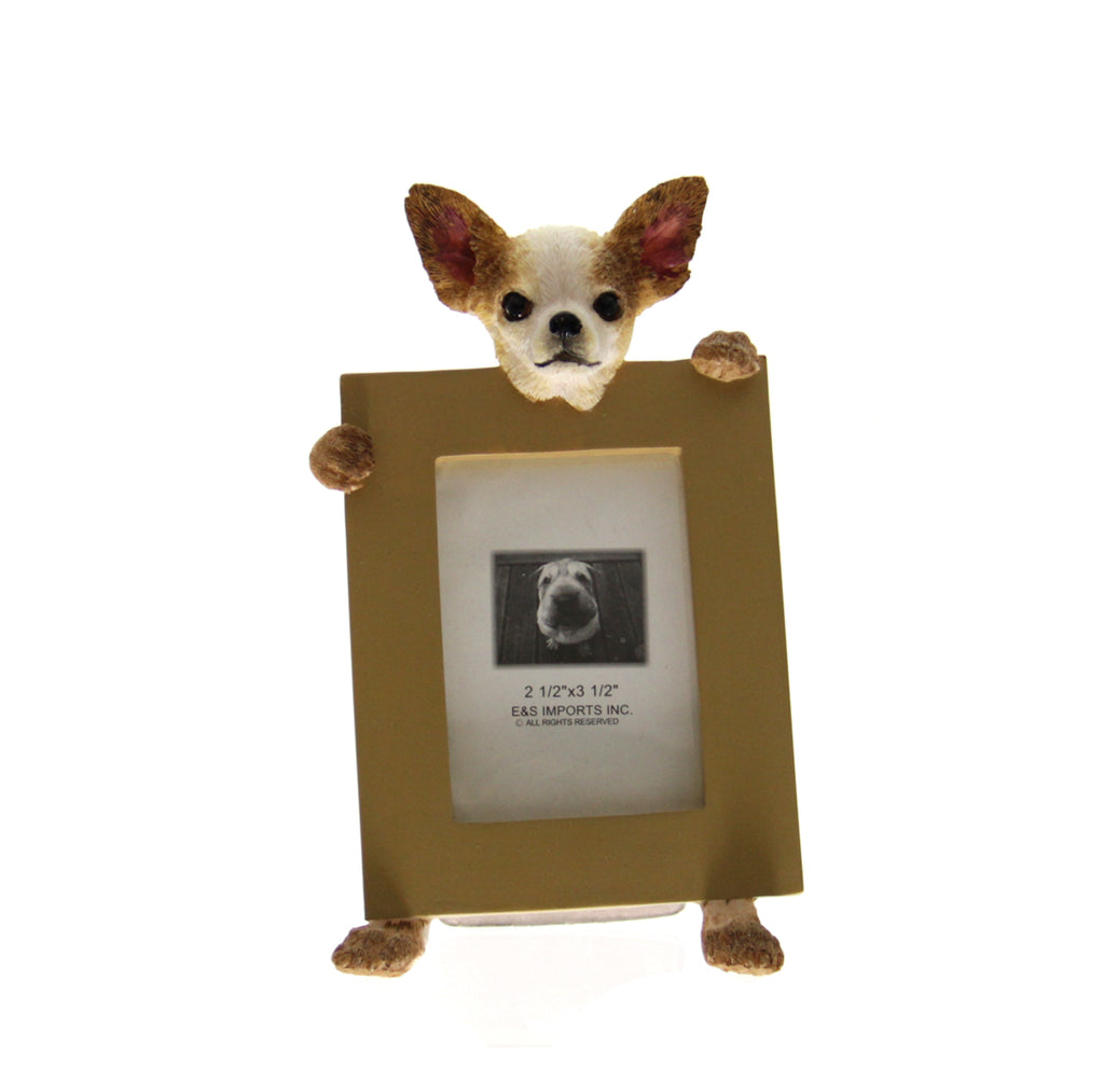 Picture Frame Chihuahua Brown/Tan
