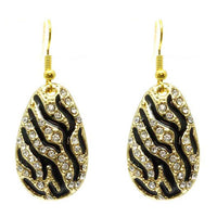 Tiger Animal Print Earrings