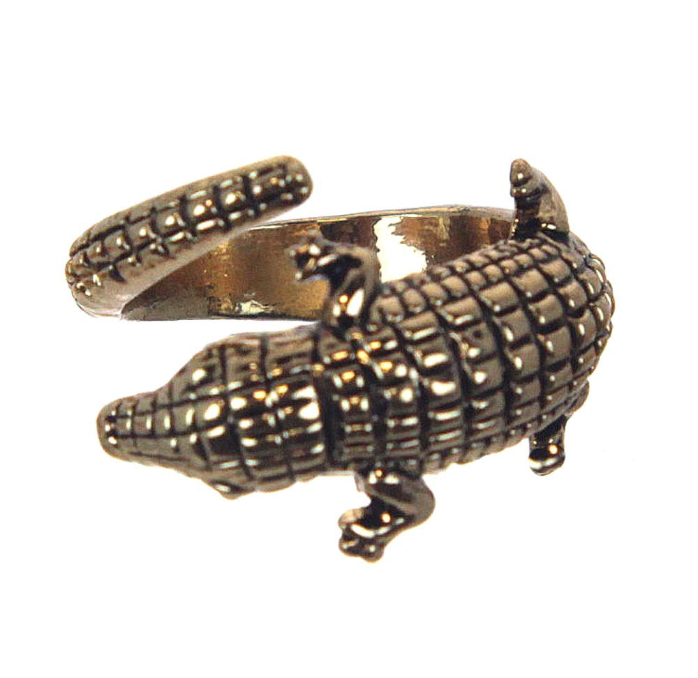 Alligator Ring Size 7.5