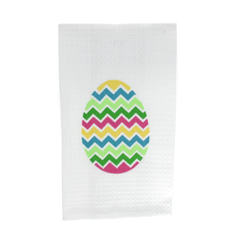 Chevron Easter Egg Towel