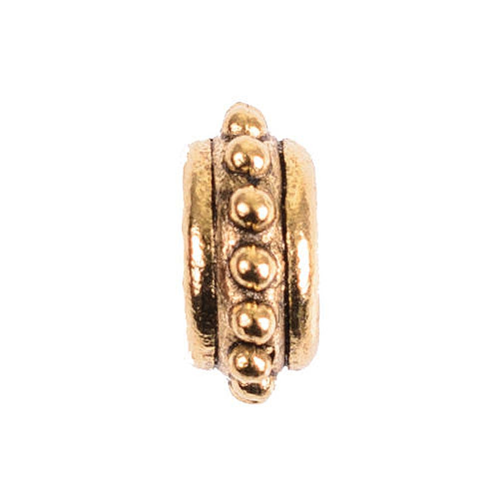 Charm Beaded Spacer Gold