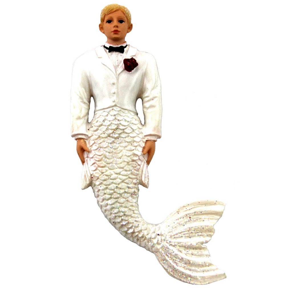 December Diamonds Groom Merman Magnet