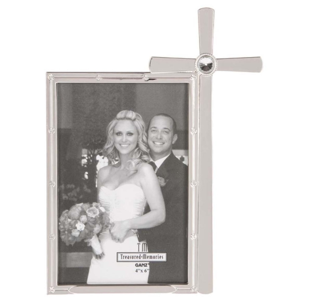 Religious Cross Wedding Frame