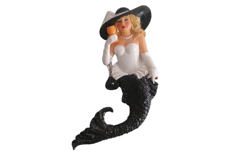 December Diamonds Lady Chablis Mermaid Magnet