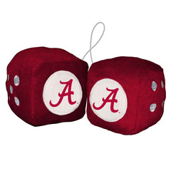 Alabama  Plush Team Fuzzy Dice