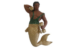 December Diamonds Biceps Merman Magnet