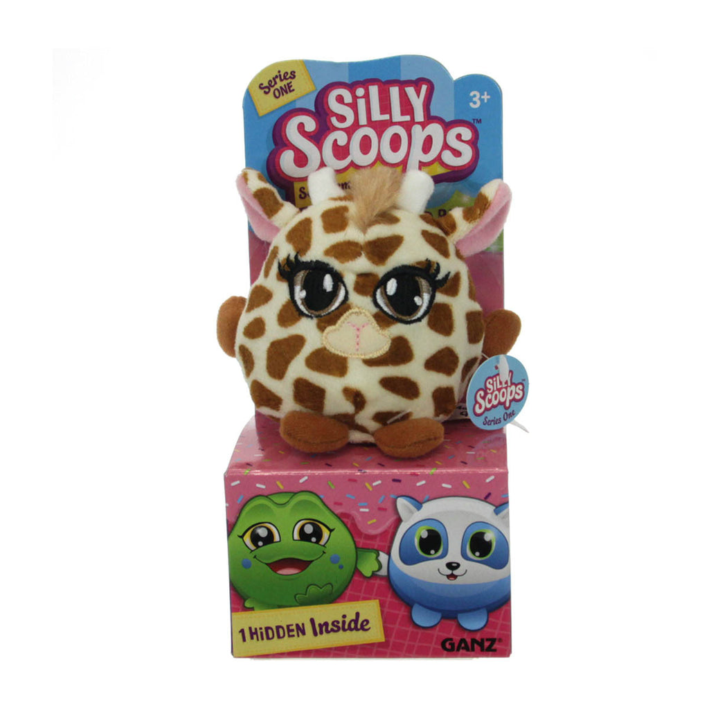 Silly Scoops - Maple Nut Giraffe