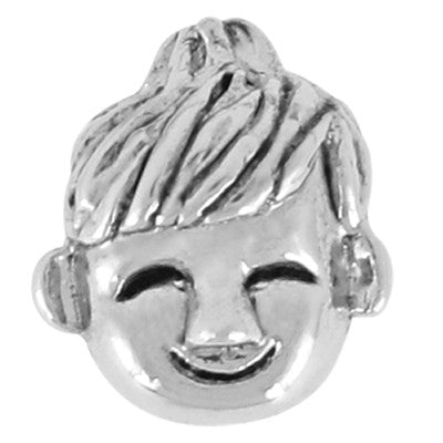 Little Boy LuTini Petite Plated Family Bead