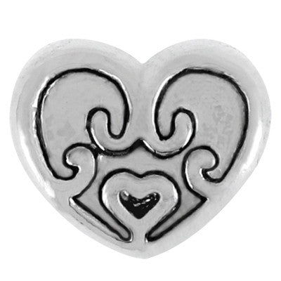 Sweet Heart LuTini Petite Plated Hearts & Love Bead