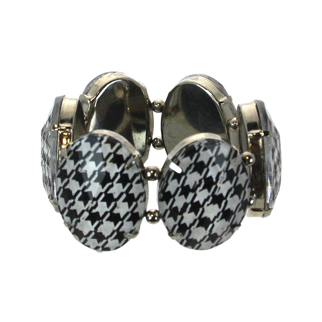 Houndstooth Bracelet Stretch