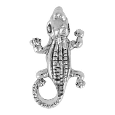 Alligator LuTini Petite Plated Sea Life Bead