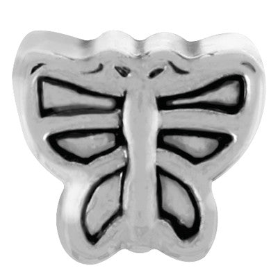 Butterfly LuTini Petite Plated Animal Bead