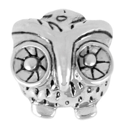 Owl LuTini Petite Plated Animal Bead