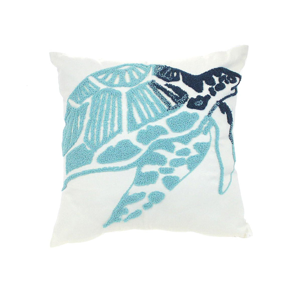 Sea Turtle Decorative Pillow