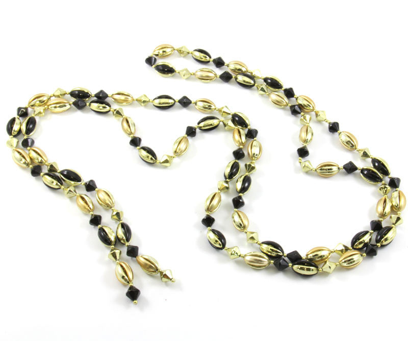 Black & Gold Beaded Garland