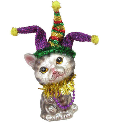 Cat with Jester Hat