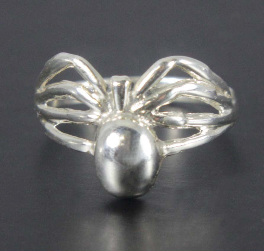 Spider Ring Sterling Silver Size 7