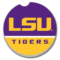 Car Coaster - LSU Gold/Purple