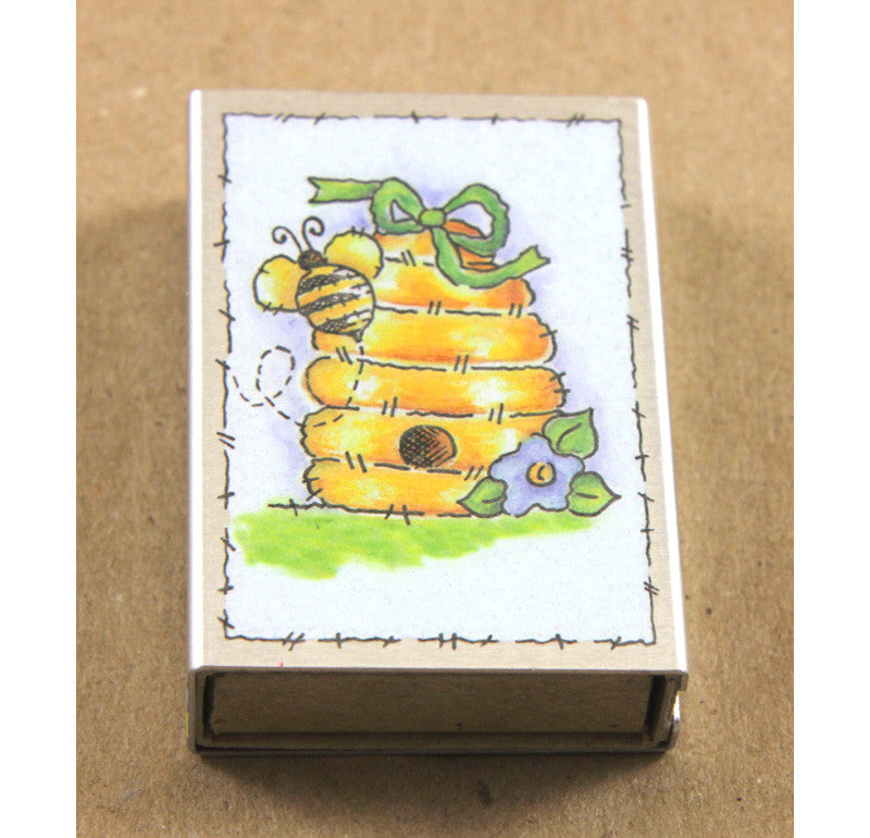 Matchbox Cover - Small - Bees