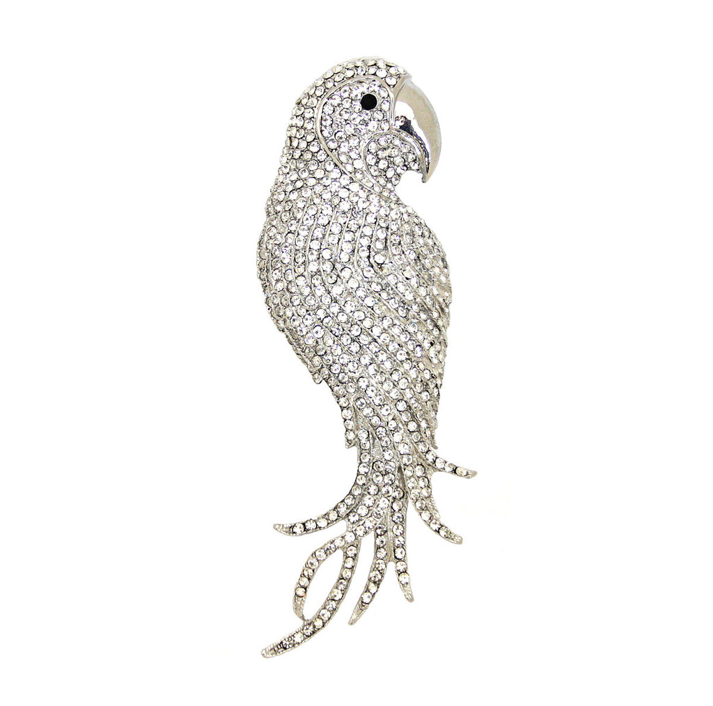 Bird Parrot Pin/Pendant Diamond