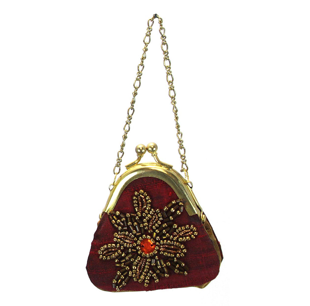 Purse Ornament Red