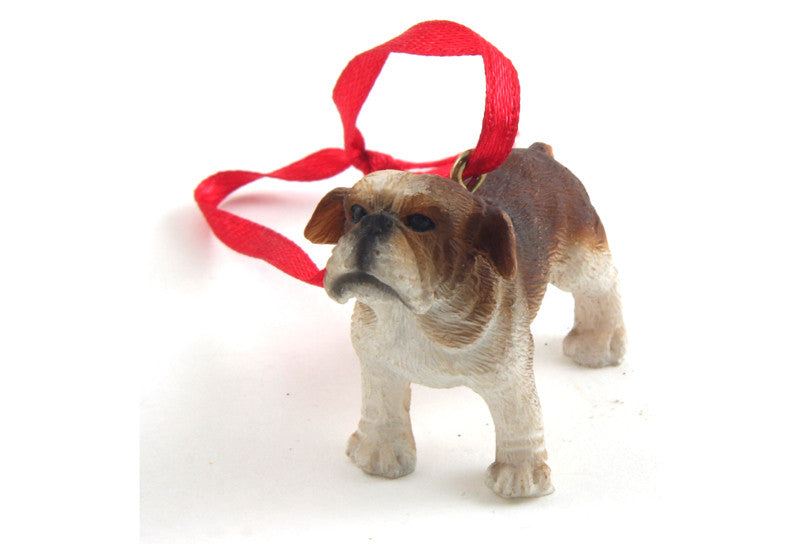 Bulldog Ornament Mini