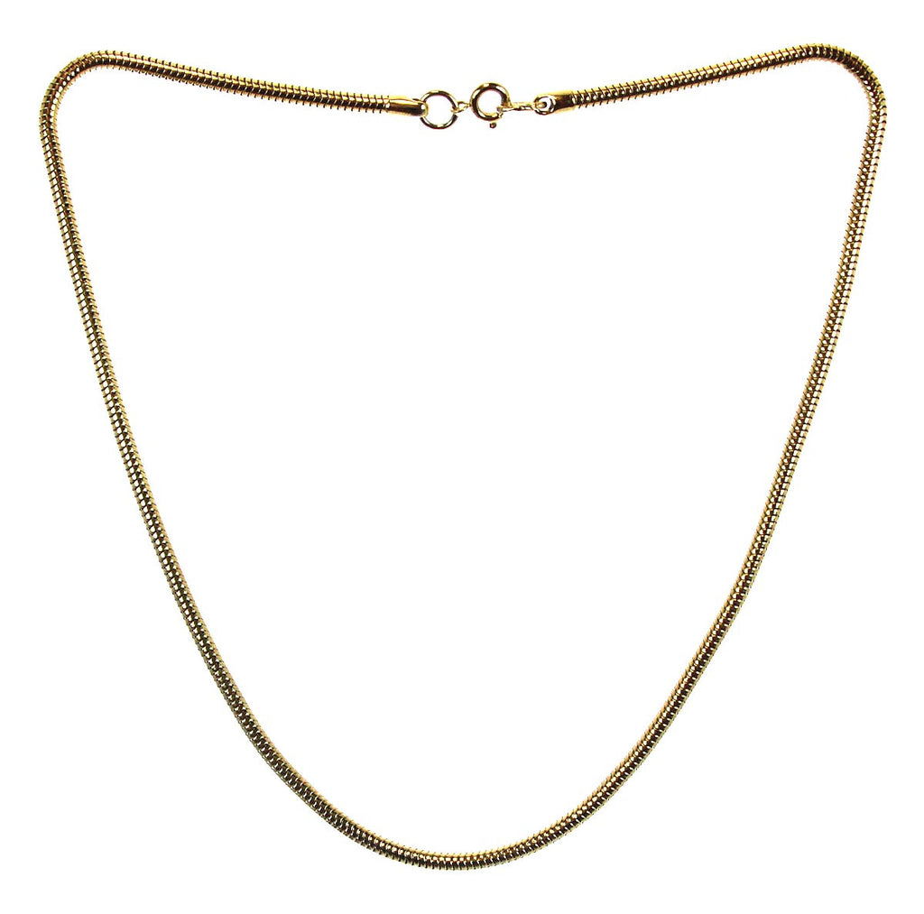 4mm Gold Snake Chain 18""